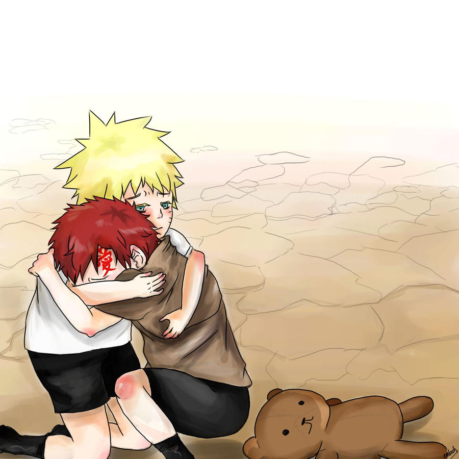 NARUTO: You're not Alone by EmbahMabok on DeviantArt Gaara And Naruto Kids