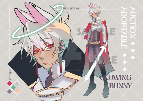 [CLOSED] AUCTION ADOPTABLE - GLOWING BUNNY