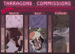 *UPDATED* Commissions Oct. 2018 by Tarragon-8