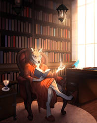 The Wolf's Study by Tarragon-8
