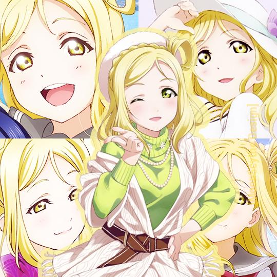 Love Live Sunshine Ohara Mari Profile Picture By Moonscythe09 On Deviantart
