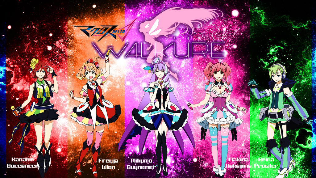 Freyja Wion Source Wallpaper Anime Macross Delta Best HD