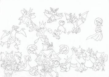 My Favorite Non-Legendary Pokemon Of Each Type