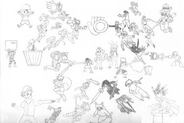 Smash Bros vs. J-Stars