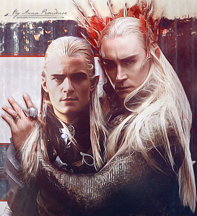 Legolas Wallpaper: Legolas And Thranduil By AnnaProvidence On DeviantArt