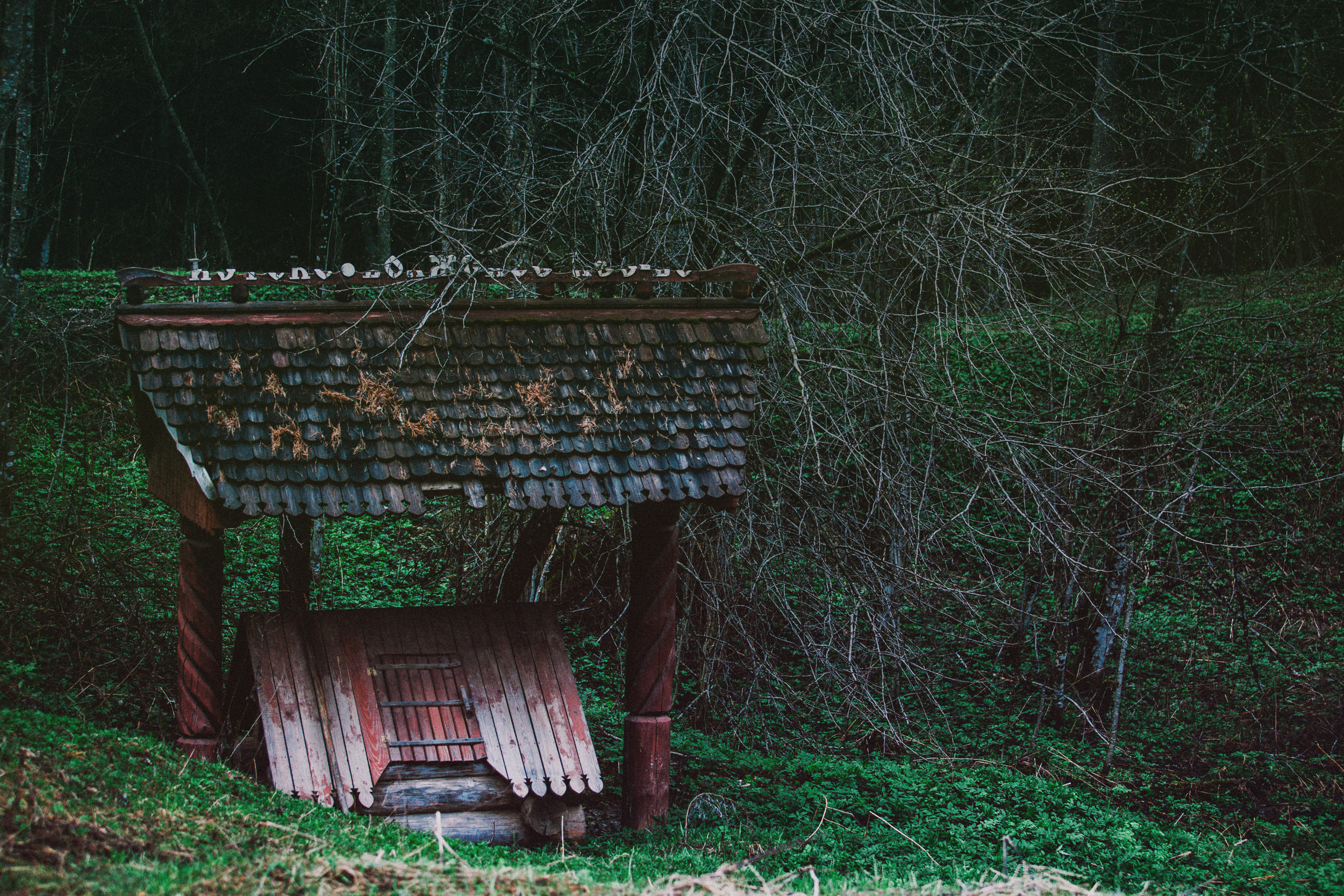Old well by AnnaProvidence