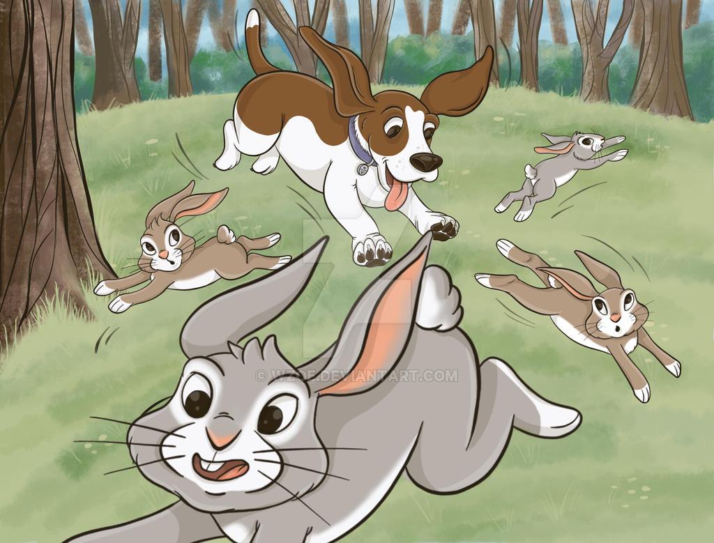 Bunnies2 by wzoe