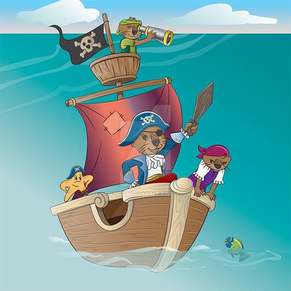 Pirates-ship600 by wzoe