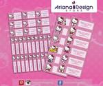 Etiquetas Hello Kitty - Name tags - Stickers