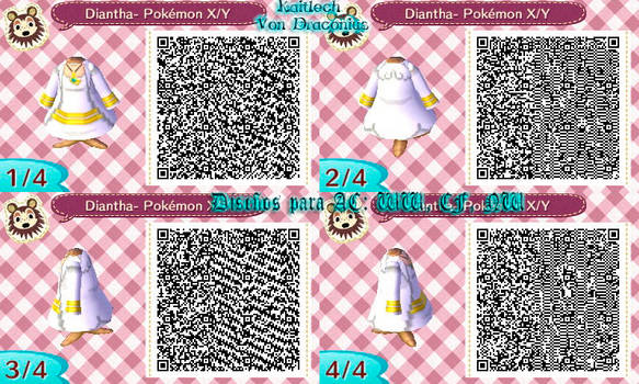 ACNL - Diantha Pokemon X and Y