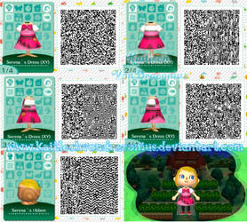 Serena dress Performer - Pokmon XY - AC QR Code