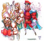 Street fighter 2 bosses