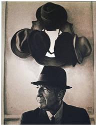 Leonard Cohen hats by victorroa