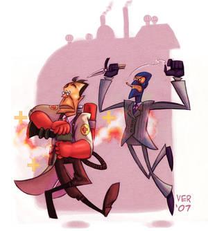 Spy And Medic