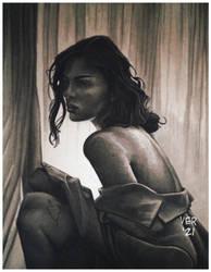 Curtain Girl