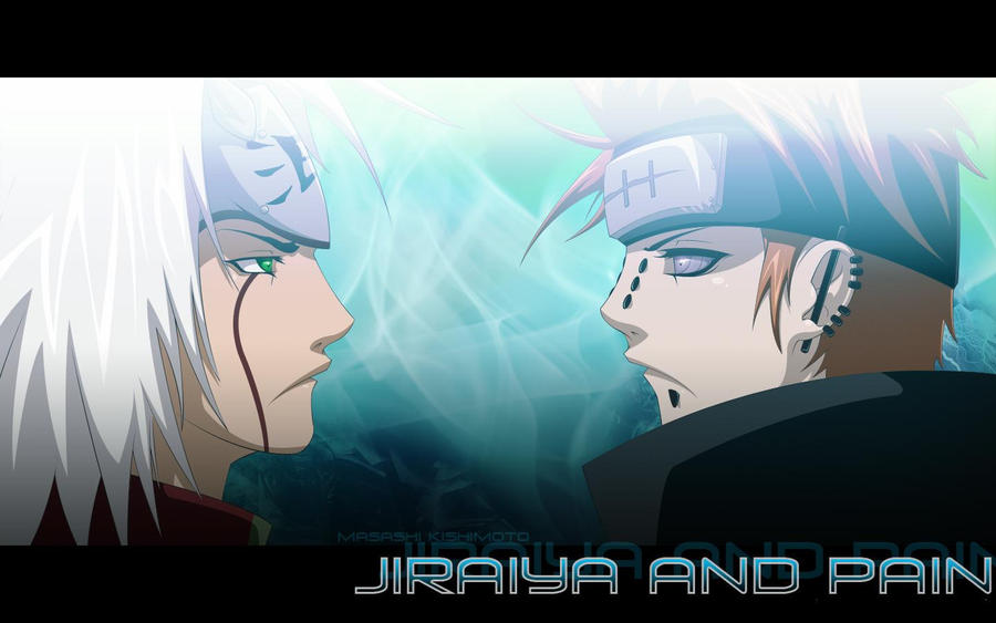 pein wallpapers. jiraya and pein wallpaper by