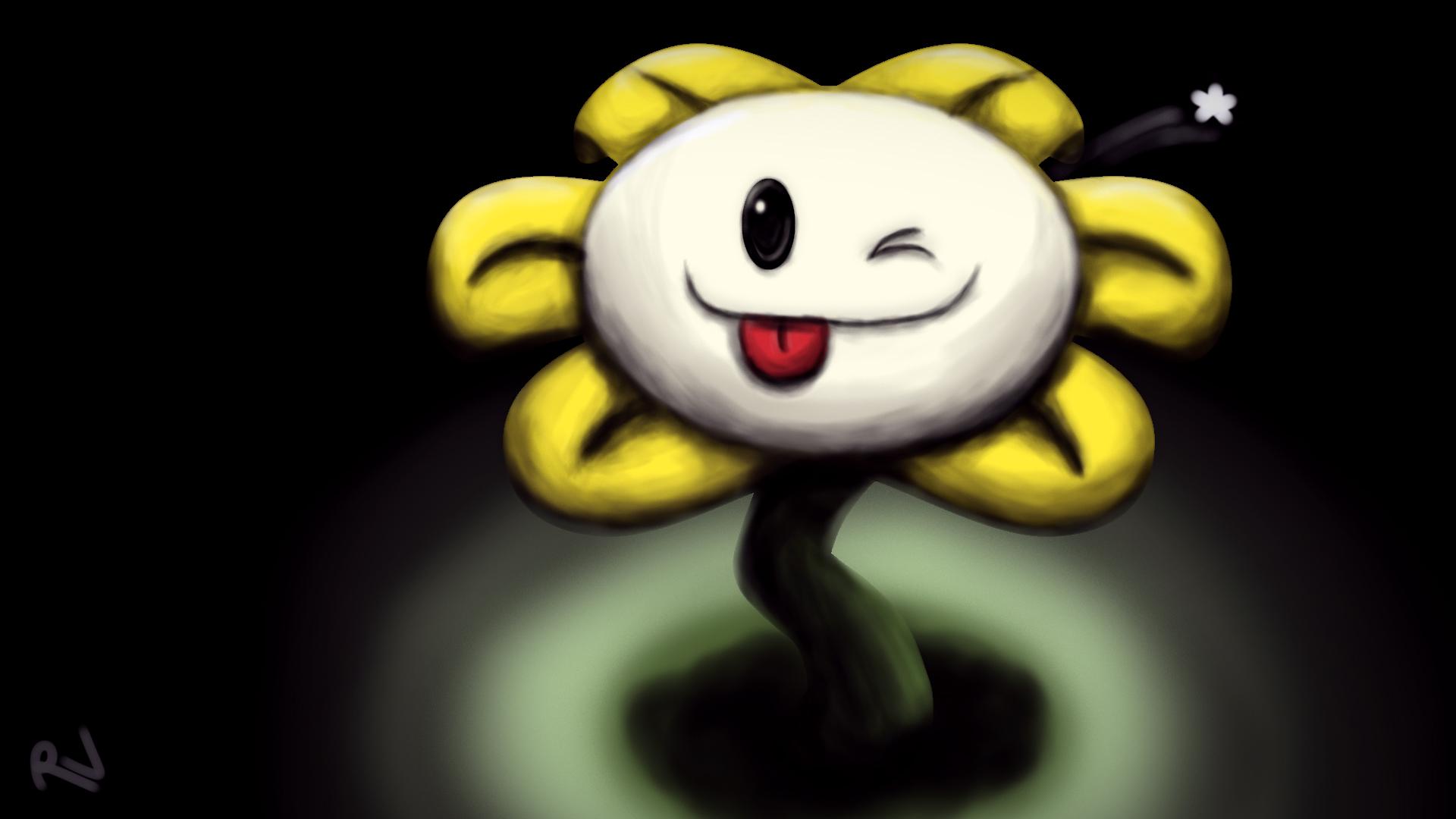 Flowey The Flower by TacoMakerMan on DeviantArt