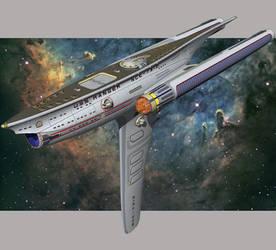 USS Ranger by WideFoot
