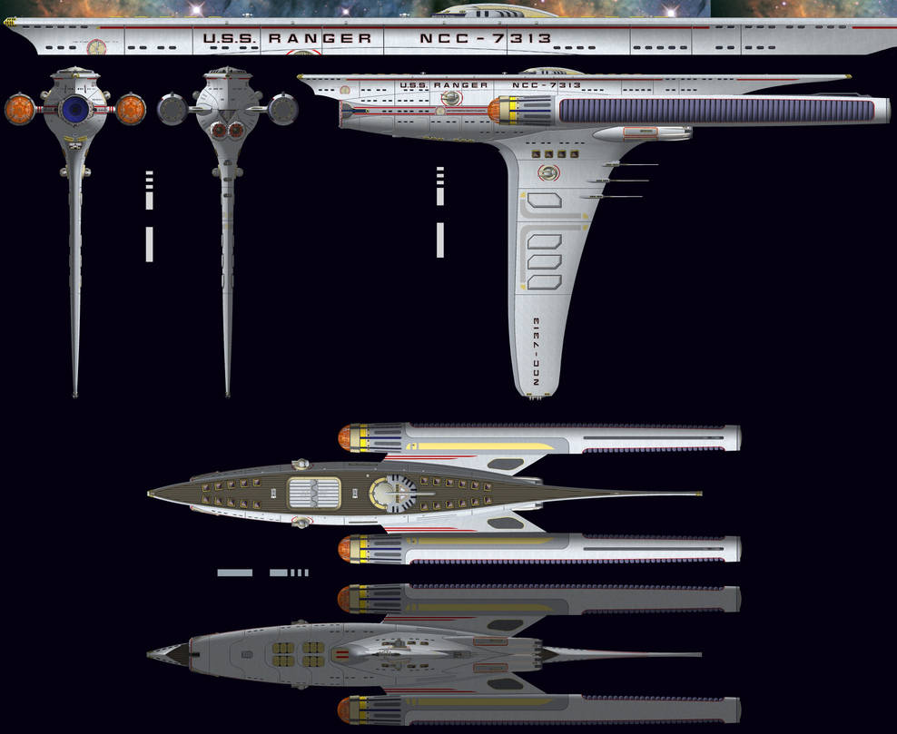 USS Ranger Ortho by WideFoot on DeviantArt