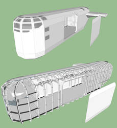 Cargo Ship WIP by WideFoot