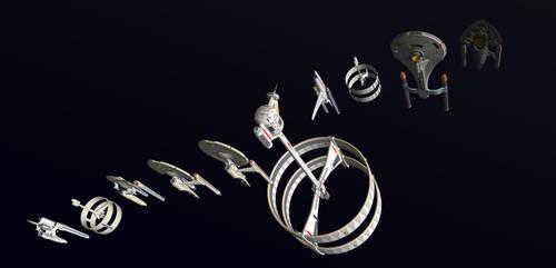 All of My Trek Ships