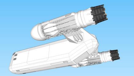 Cargo Ship WIP II by WideFoot