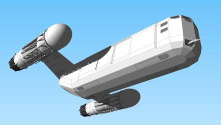 Cargo Ship WIP III