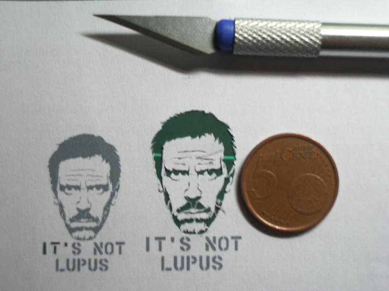 Smallest stencil ever by Rendan86