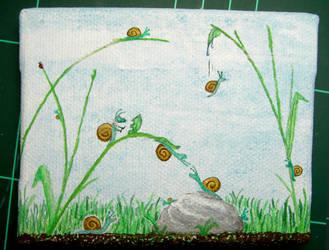 Snails romannce by Rendan86