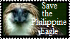 Philippine eagle stamp by concaholic