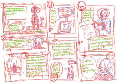 A Comic Idea by YandereEmilianDake