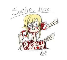 Smile More by YandereEmilianDake