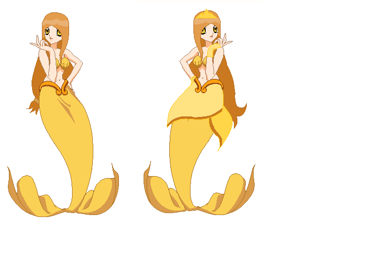 Mermaid melody ppg amber season 1 mermaid forms by for Farcical other forms