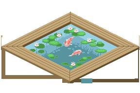 Koi pond by Zxoqwikl