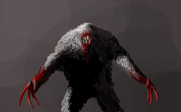 Quake: Shambler speedpainting by Zxoqwikl on DeviantArt Quake Shambler