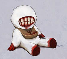Quake: Shambler toddler by Zxoqwikl