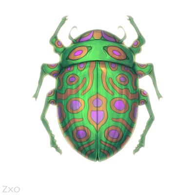 Decorative bug by Zxoqwikl
