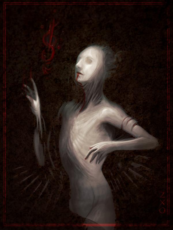 Vampiric spirit by Zxoqwikl