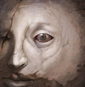 Eye in stone by Zxoqwikl