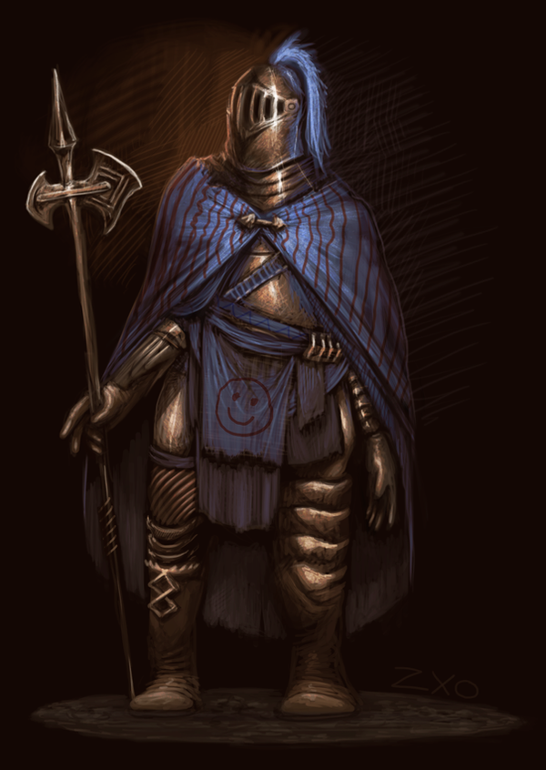 Smiley knight by Zxoqwikl