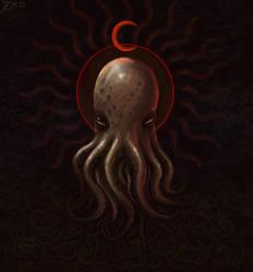 Moon Sickle Cephalopod by Zxoqwikl