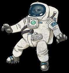 Astronaut by Zxoqwikl