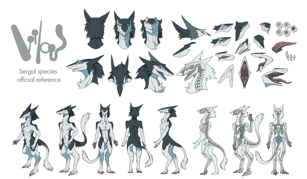 The Official Reference Sheet Of Sergals Part 1 By Mick39