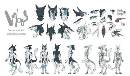The Official Reference Sheet of Sergals - Part 1