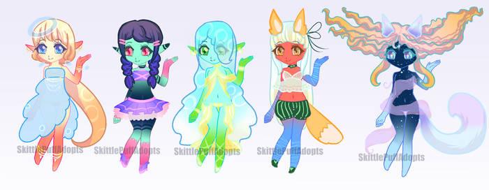 Alien Adopts (OPEN) by SkittlePuffAdopts