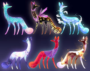 Magic Dogs 0.2 (CLOSED TY!) by SkittlePuffAdopts