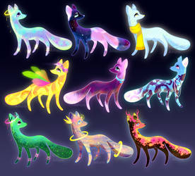 Magic Pups 0.1 (OPEN) by SkittlePuffAdopts