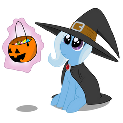 Trixie or Treat by AnimeFreak40K