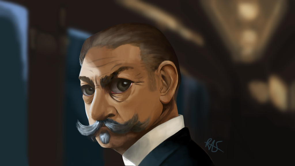 Poirot Color Study by PatchesWolf
