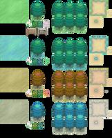 Pokemon BW Seasons Tileset by Zenionith